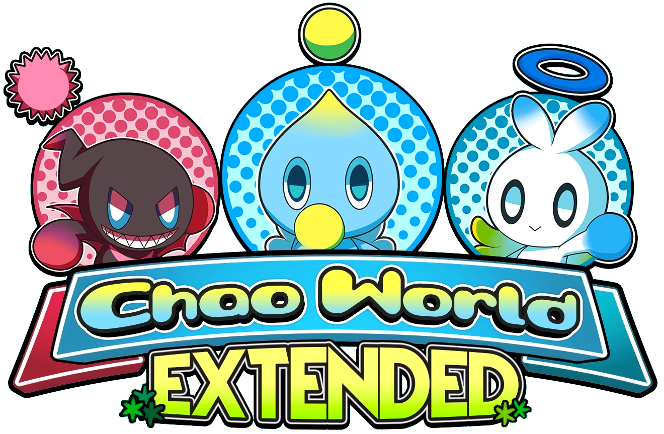 Chao World Extended Logo