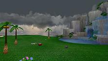 Chao Garden - Evening (Cloudy)