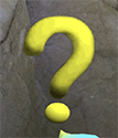 Original Question Mark Texture