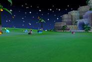 Cartoon Night Garden