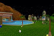 Tropical Resort Garden