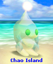 Neutral Sky Blue Shiny-Jewel Chaos Chao