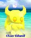 Dark Yellow Shiny Mono-tone Chaos Chao