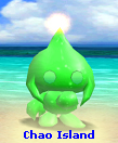 Neutral Green Shiny Mono-tone Chaos Chao