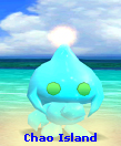Neutral Sky Blue Shiny Mono-tone Chaos Chao