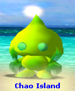 Neutral Lime Green Two-tone Chaos Chao