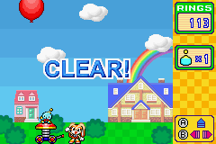 Chao Bounce - Clear all four levels