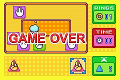 Rock Paper Scissors - Game over