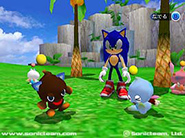 Official Sega Sonic Adventure 2 Chao pre-release screenshot