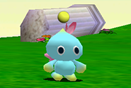 A newly hatched baby Chao