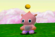 A child Chao close to evolution