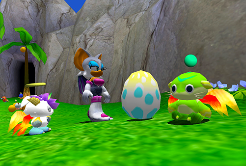 Various animal parts on Chao