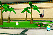 Two Chao Eggs in Station Square Garden