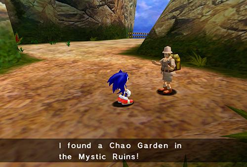 Explorer revealing Garden location