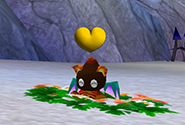 Chao in mating season after eating a Heart Fruit