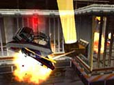 Chaos Drive falling from a G.U.N. robot