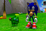 A Green Hero Chaos Chao