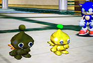A Bronze Chao and Gold Chao