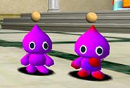 A purple monotone with a purple two-tone