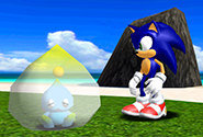 A Chao death cocoon
