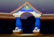 The Kidergarten door