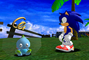 A Chao entering a death cocoon