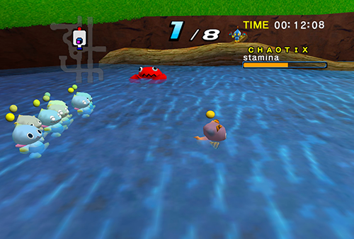 A Chao with a better swimming stat