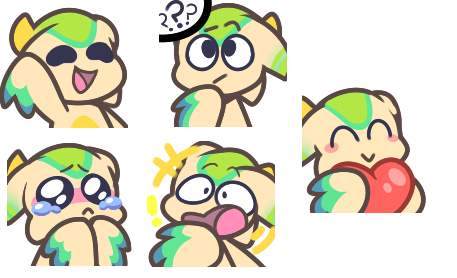 Coco Emotes by ASleepymystery.